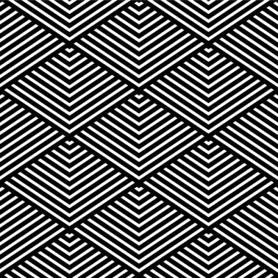 Fotomural Textura geométrica sem emenda.