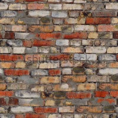 Fotomural textura perfeita do tijolo