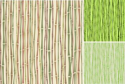 Fotomural Textura sem emenda com bambu talos