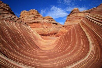 Fotomural The Wave - Maravilha da natureza