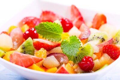 Fotomural Tigela de salada de frutas