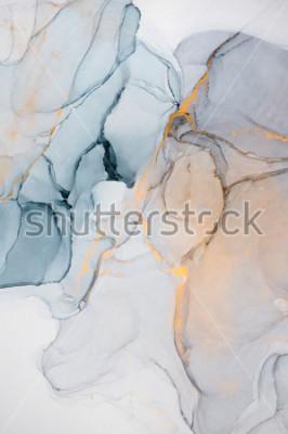 Fotomural Tinta, tinta, abstrata. Closeup da pintura. Fundo colorido pintura abstrata. Tinta a óleo altamente texturizada. Detalhes da Alta Qualidade.