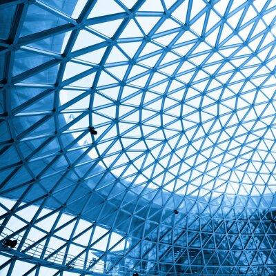Fotomural Tiro abstrato do edifício moderno