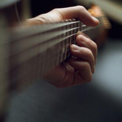 Fotomural Tocando guitarra elétrica