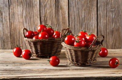 Fotomural Tomates, cestos