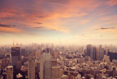Fotomural Tóquio horizonte