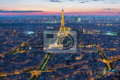 Fotomural Torre Eiffel em Paris, França