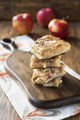 Fotomural torta de maçã