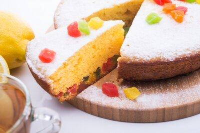 Fotomural Torta saborosa com jujuba