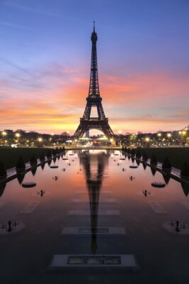 Fotomural Tour Eiffel Paris