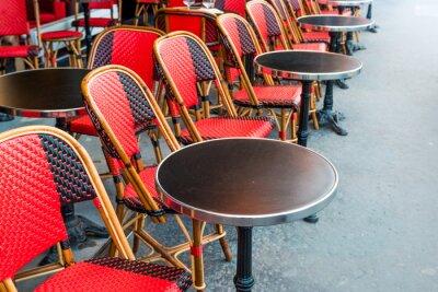 Fotomural tradicional café parisiense