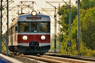 Fotomural transporte ferroviário