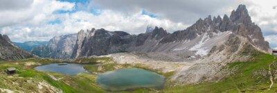Fotomural Trekking em Tre Cime National Park, Dolomitas