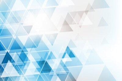 Fotomural trójkąty tło WEKTOR