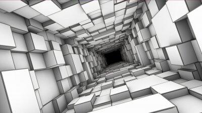 Fotomural túnel