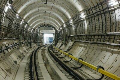 Fotomural túnel do metrô
