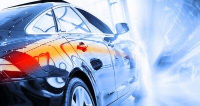 Fotomural TYLNY widok luksusowego samochodu