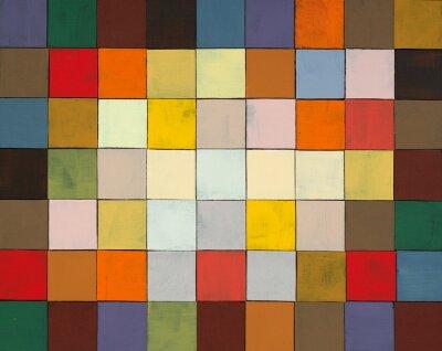 Fotomural uma colagem pintado abstrato