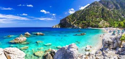Fotomural Uma das mais belas praias da Grécia - Apella, Karpathos