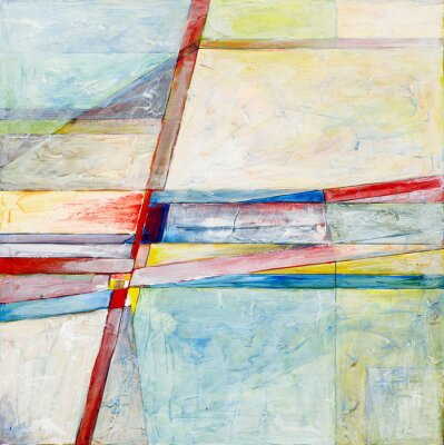 Fotomural uma pintura abstrata