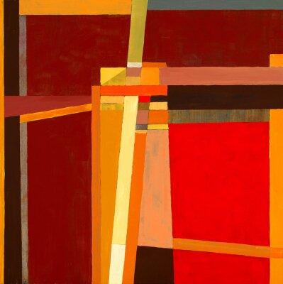 Fotomural uma pintura abstrata modernista