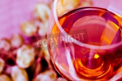 Fotomural Uva e vinho