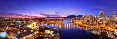 Fotomural Vancouver harbour ver mais