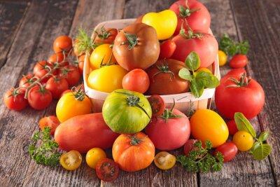 Fotomural Variedade de tomates