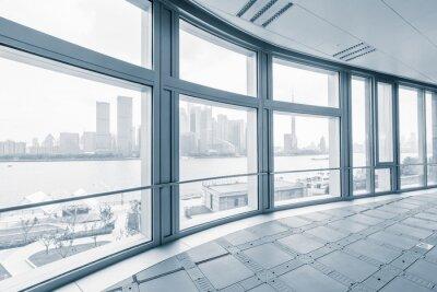 Fotomural Vazio, escritório, sala, modernos, escritório, edifícios