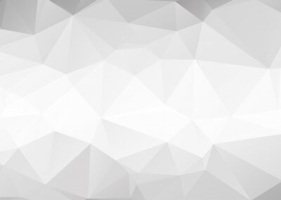 Fotomural Vector abstract gray triangles background