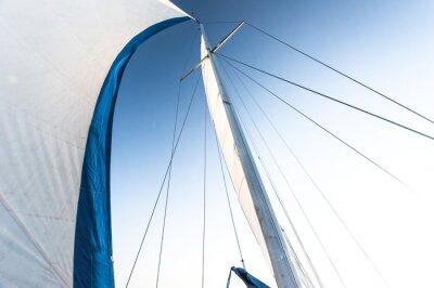 Fotomural Vela de um barco à vela