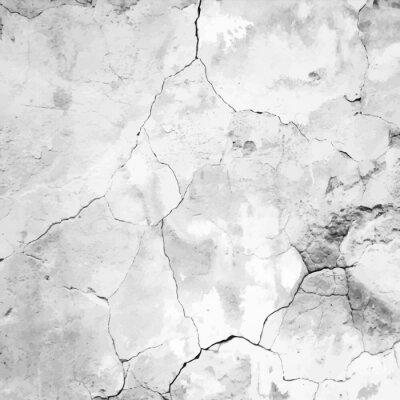 Fotomural velho rachado gesso Textura