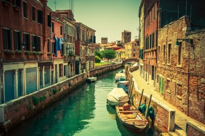 Fotomural Veneza Canal Place