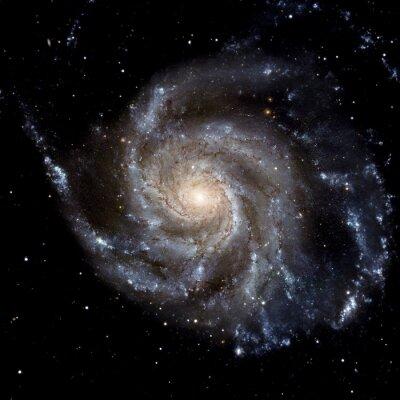 Fotomural Ver imagem do sistema Galaxy isolado Elementos desta imagem fornecidos pela NASA