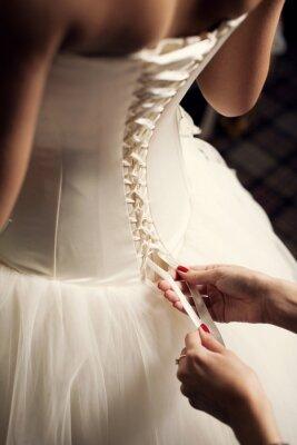 Fotomural Vestido de Noiva