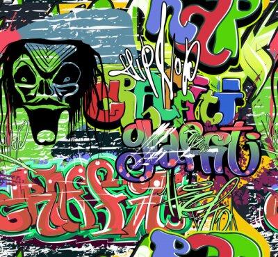 Fotomural vetor graffiti de parede de fundo transparente