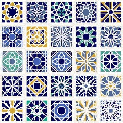 Fotomural Vetorial, jogo, geométrico, padrões