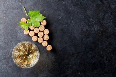 Fotomural Vinho, cortiça, uva, FORMA, videira