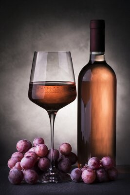 Fotomural Vino rosato