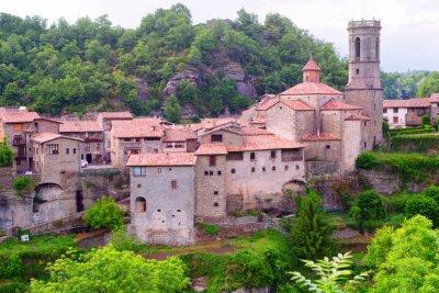 Fotomural Vista geral de Besalu