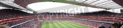 Fotomural Vista panorâmica do Arsenal V Chelsea 0-0 draw jogo de futebol / soccer Jogado No dia 21 de abril de 2012. Emirates Stadium, Londres, Inglaterra