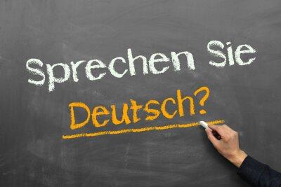 Fotomural Você fala alemão?