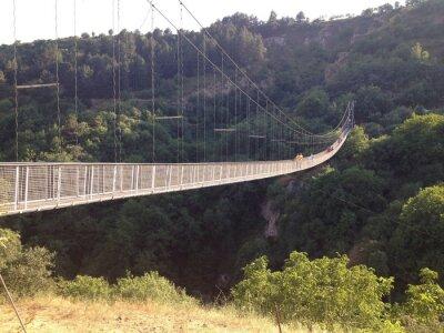 Fotomural Подвесной мост