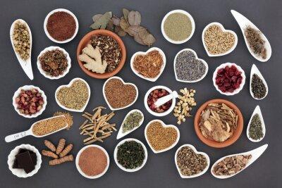 Fotomural Alimentos saudáveis para mulheres