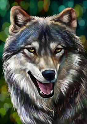 Fotomural Волк