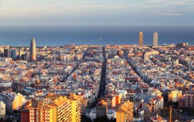 Fotomural Cityscape, Barcelona, Espanha