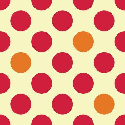 Fotomural Vetor moderno, seamless, coloridos, geometria, pontos, Padrão, cor, abstratos, geomã ©'ricas, fundo, travesseiro, Multicoloured,