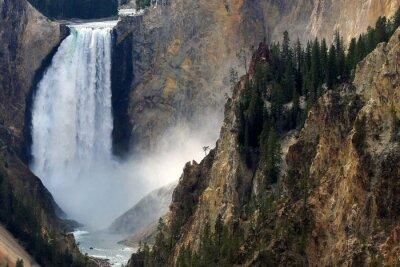 Fotomural Yellowstone queda