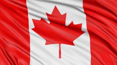 Poster 3D, Canadá, bandeira
