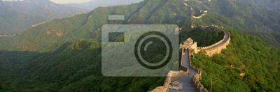 Poster A Grande Muralha em Mutianyu, em Pequim, na província de Hebei, República Popular da China